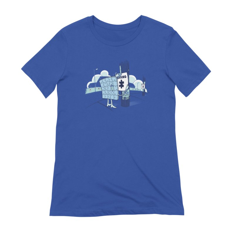 Missing Women's T-Shirt by Made With Awesome