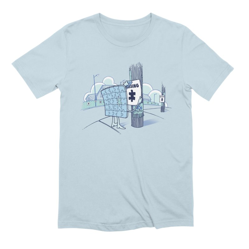 Missing Men's Extra Soft T-Shirt by Made With Awesome