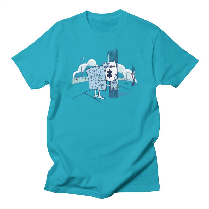 Missing Men's T-Shirt by Made With Awesome