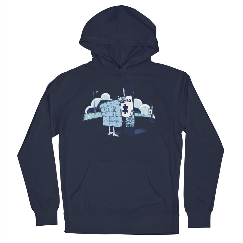 Missing Women's French Terry Pullover Hoody by Made With Awesome
