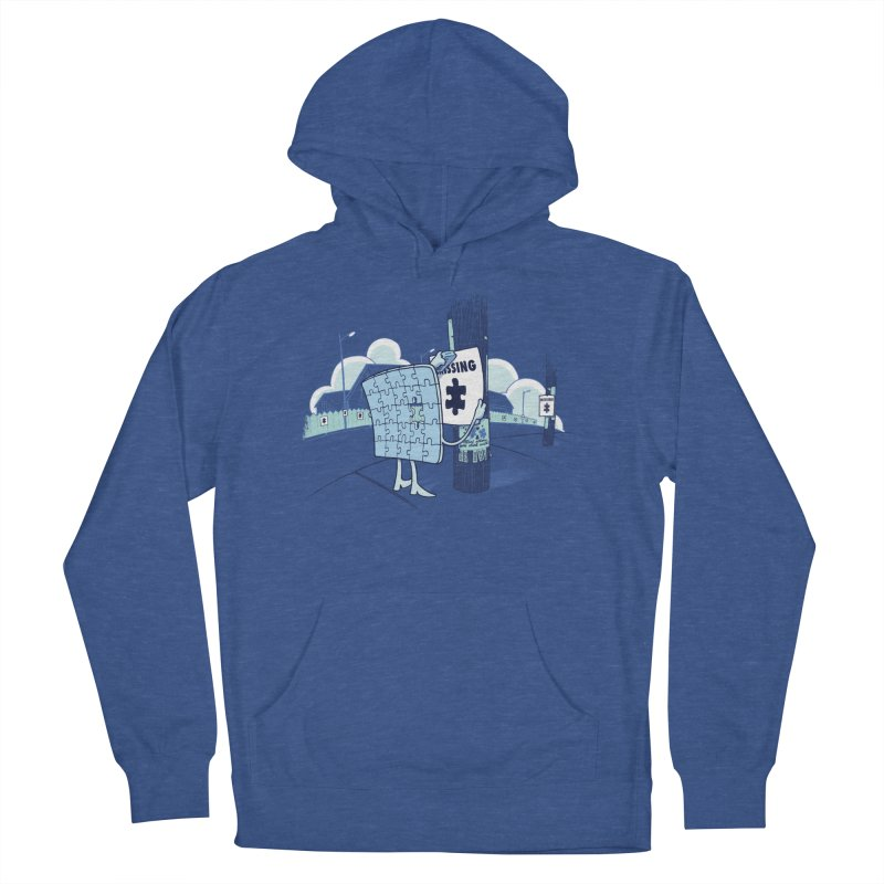 Missing Men's French Terry Pullover Hoody by Made With Awesome
