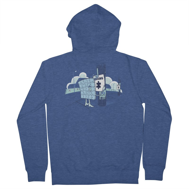 Missing Women's French Terry Zip-Up Hoody by Made With Awesome