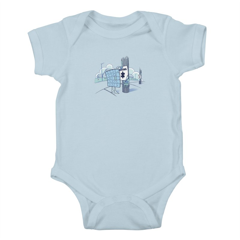 Missing Kids Baby Bodysuit by Made With Awesome