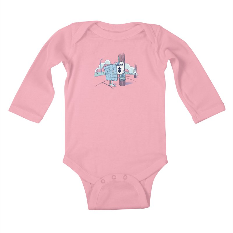 Missing Kids Baby Longsleeve Bodysuit by Made With Awesome