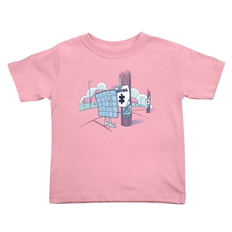 Missing Kids Toddler T-Shirt by Made With Awesome