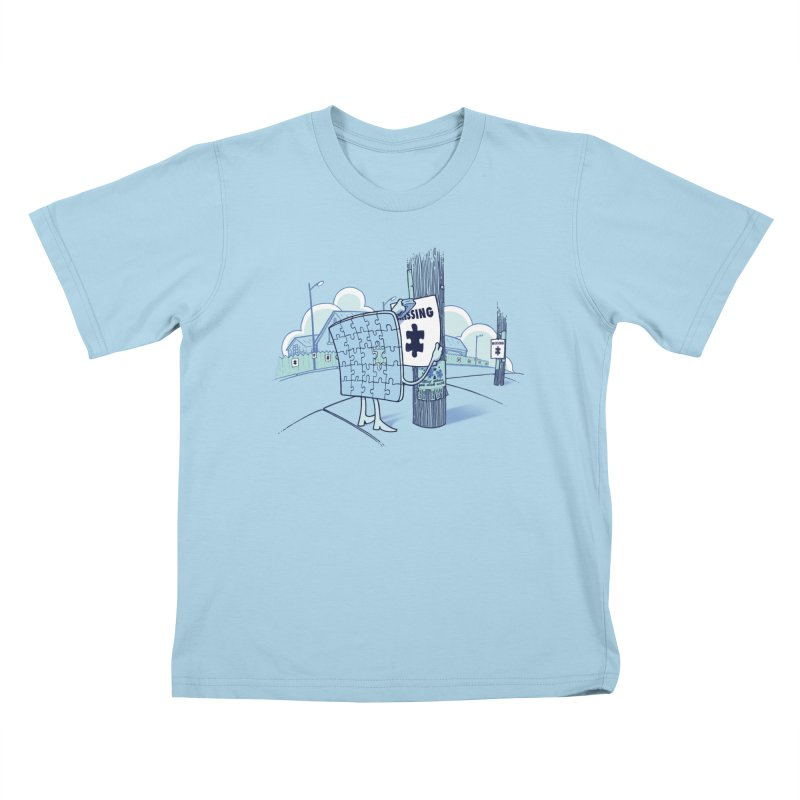 Missing Kids T-Shirt by Made With Awesome
