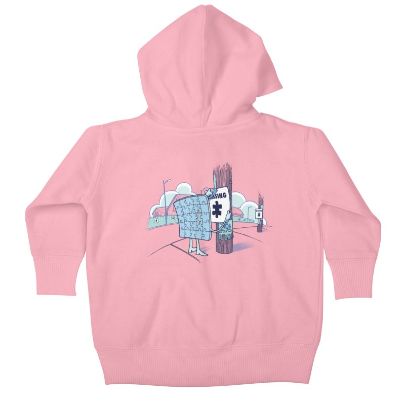 Missing Kids Baby Zip-Up Hoody by Made With Awesome