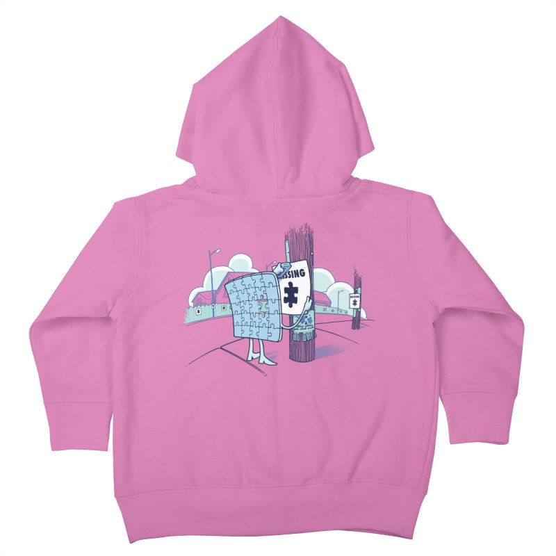 Missing Kids Toddler Zip-Up Hoody by Made With Awesome