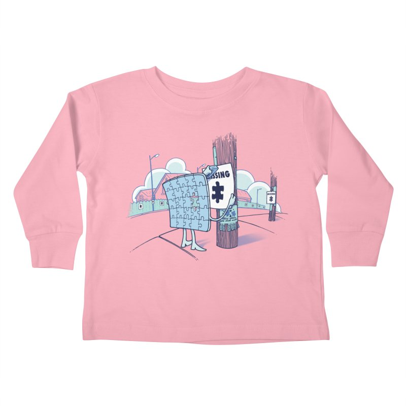 Missing Kids Toddler Longsleeve T-Shirt by Made With Awesome