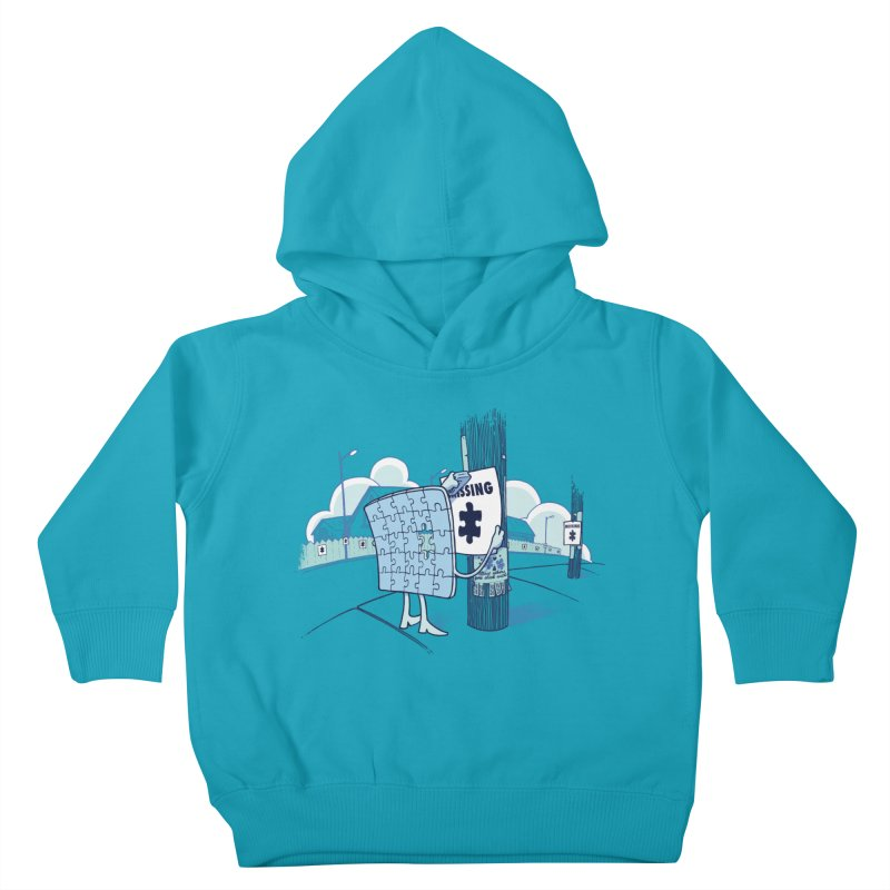 Missing Kids Toddler Pullover Hoody by Made With Awesome