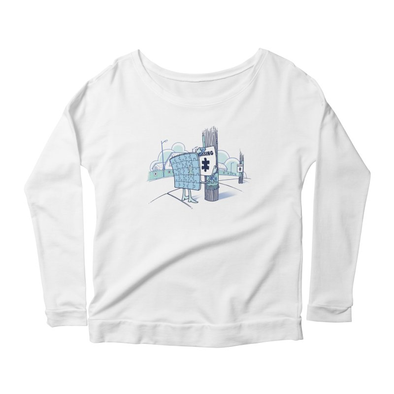 Missing Women's Longsleeve T-Shirt by Made With Awesome