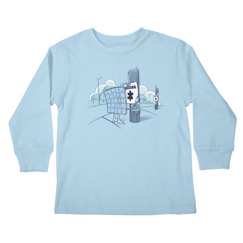 Missing Kids Longsleeve T-Shirt by Made With Awesome