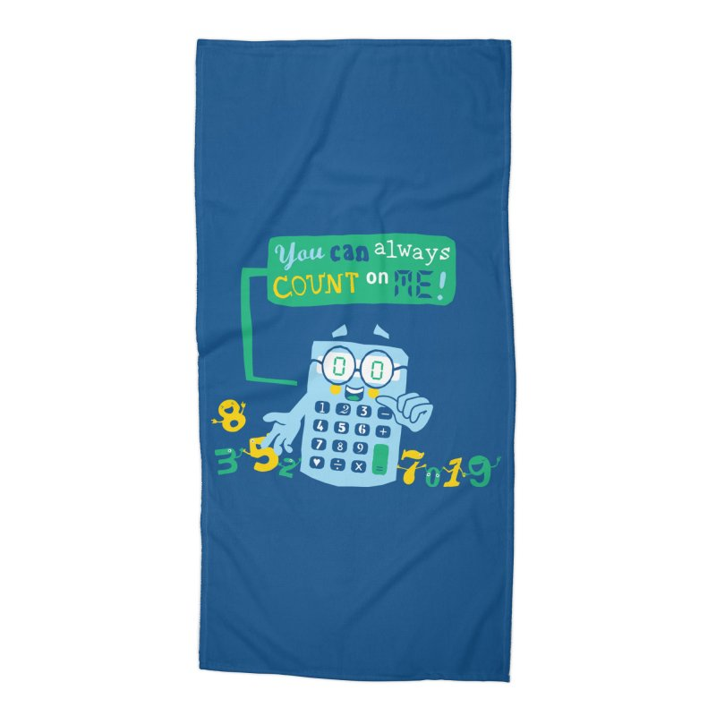 Count On Me Accessories Beach Towel by Made With Awesome