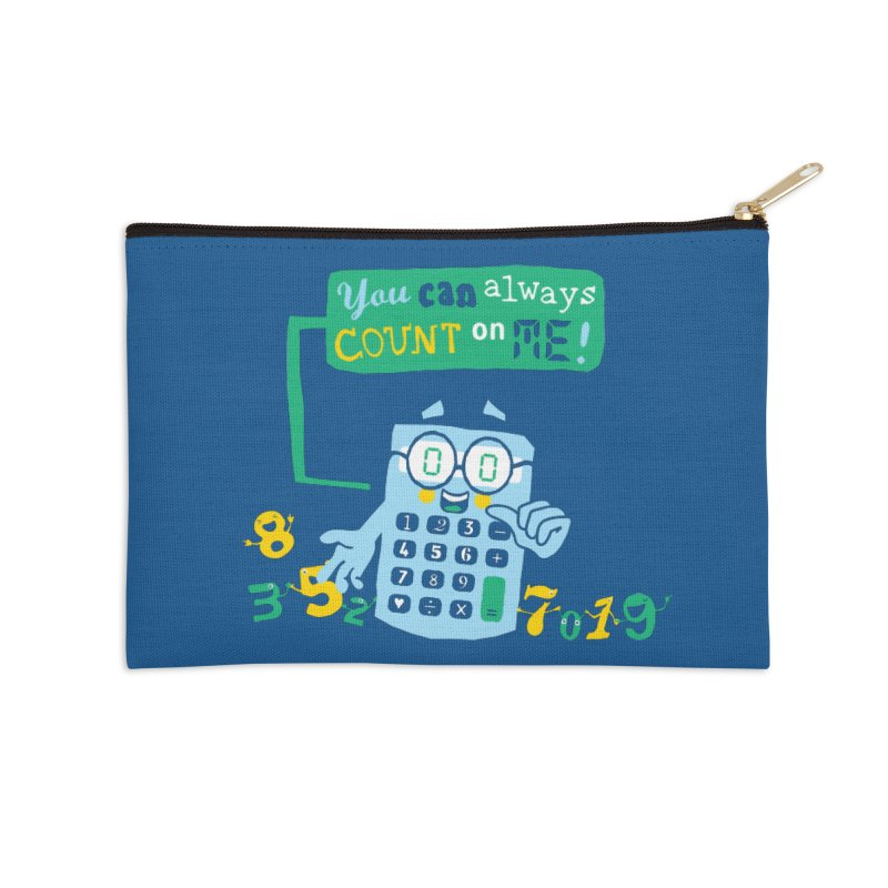 Count On Me Accessories Zip Pouch by Made With Awesome