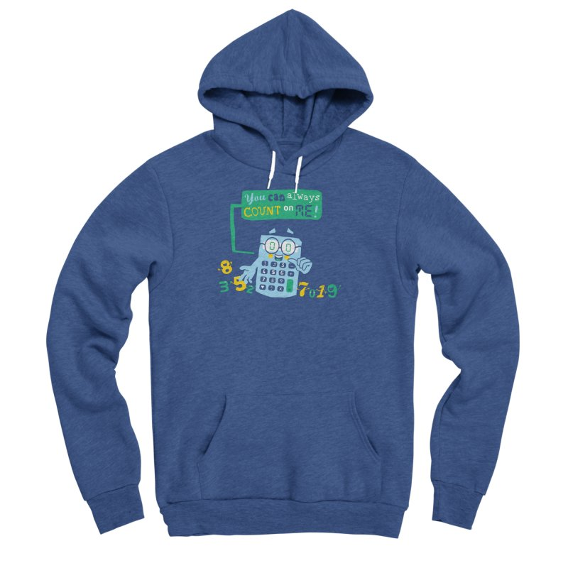 Count On Me Men's Sponge Fleece Pullover Hoody by Made With Awesome
