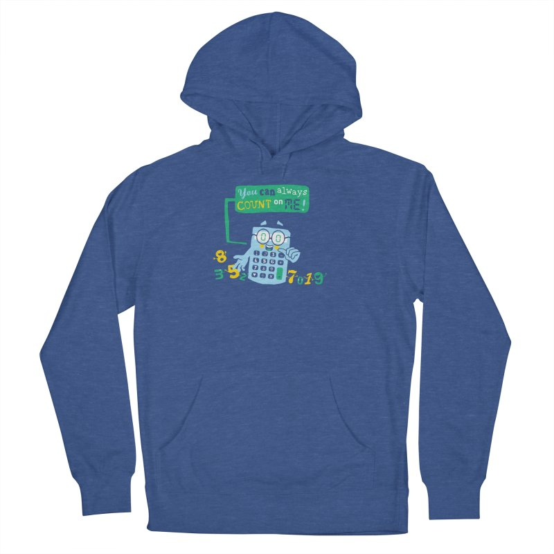 Count On Me Men's French Terry Pullover Hoody by Made With Awesome