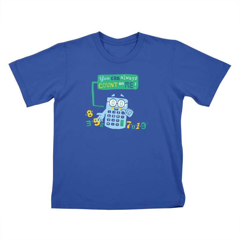Count On Me Kids T-Shirt by Made With Awesome