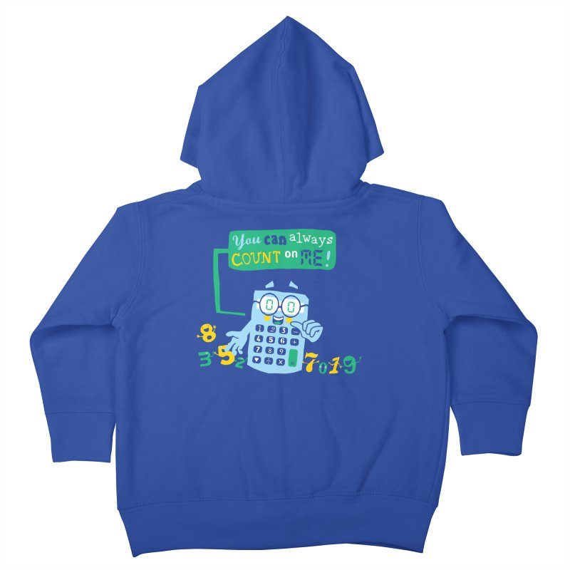 Count On Me Kids Toddler Zip-Up Hoody by Made With Awesome