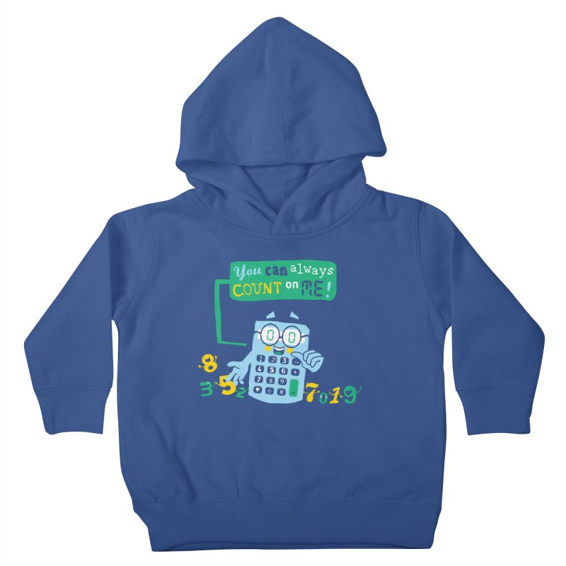 Count On Me Kids Toddler Pullover Hoody by Made With Awesome