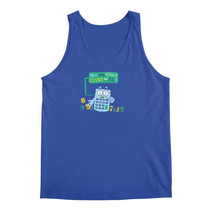 Count On Me Men's Regular Tank by Made With Awesome