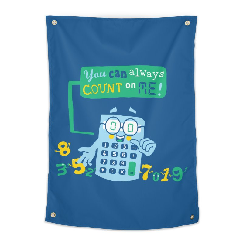Count On Me Home Tapestry by Made With Awesome