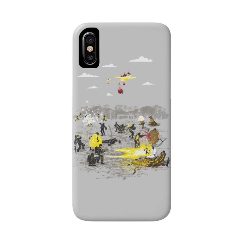 Food Fight Accessories Phone Case by Made With Awesome