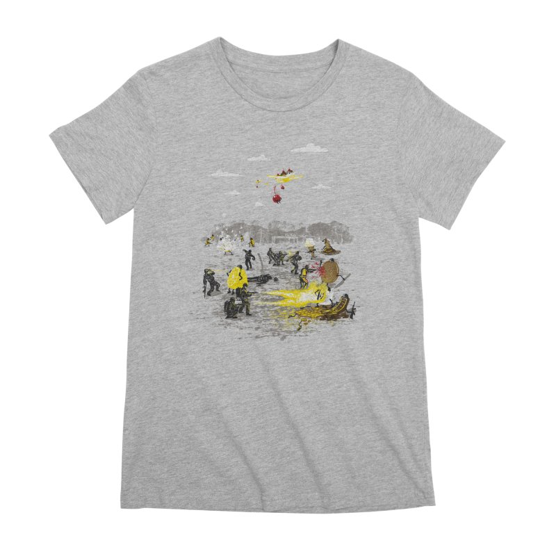 Food Fight Women's Premium T-Shirt by Made With Awesome