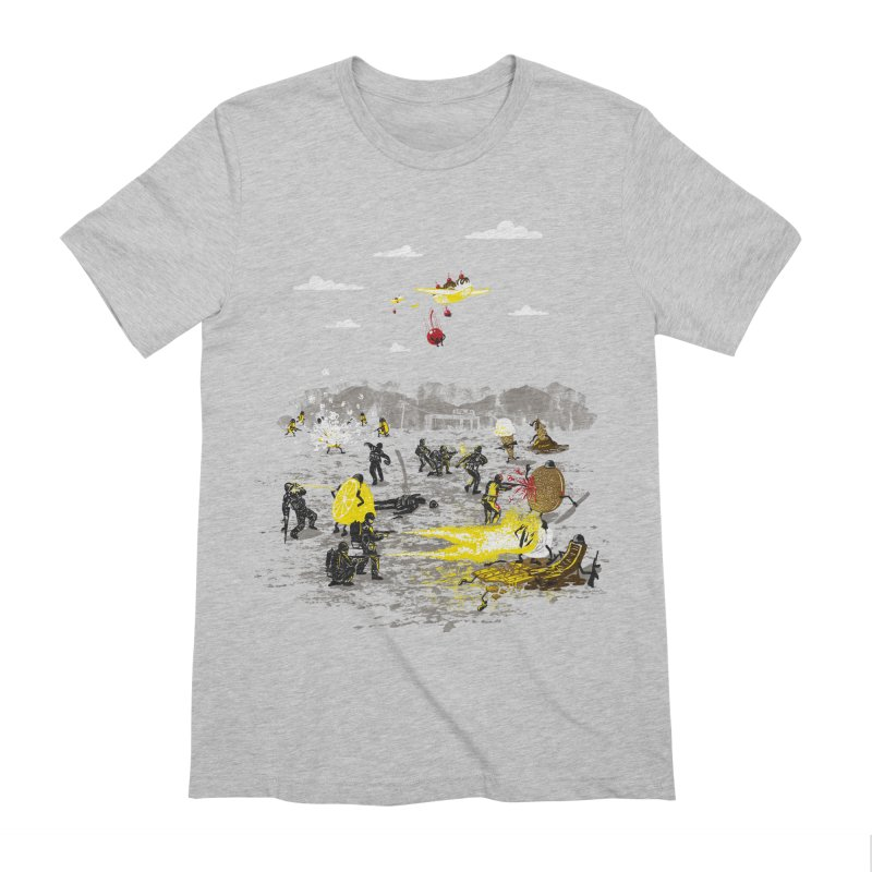 Food Fight Men's Extra Soft T-Shirt by Made With Awesome