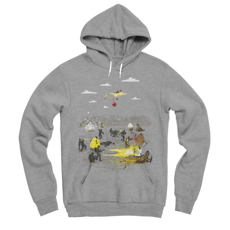 Food Fight Women's Sponge Fleece Pullover Hoody by Made With Awesome