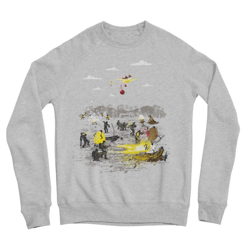 Food Fight Women's Sponge Fleece Sweatshirt by Made With Awesome