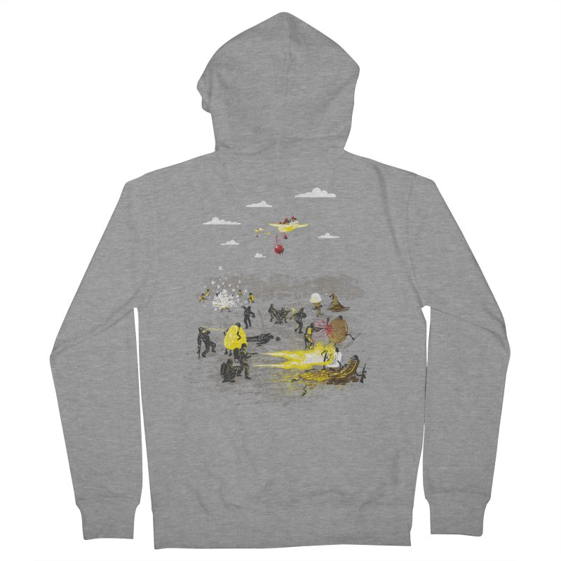 Food Fight Women's Zip-Up Hoody by Made With Awesome