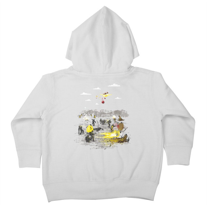Food Fight Kids Toddler Zip-Up Hoody by Made With Awesome