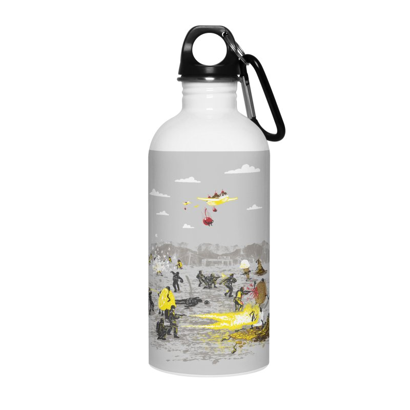 Food Fight Accessories Water Bottle by Made With Awesome