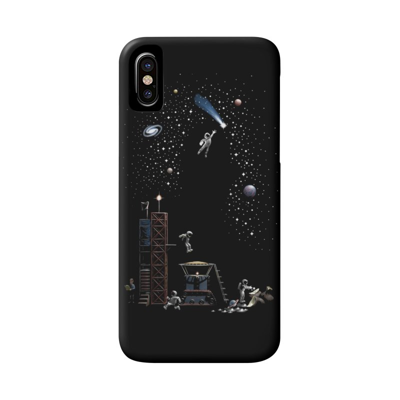 Astronot Accessories Phone Case by Made With Awesome