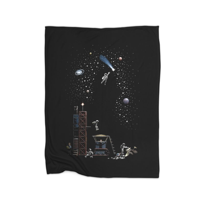 Astronot Home Blanket by Made With Awesome
