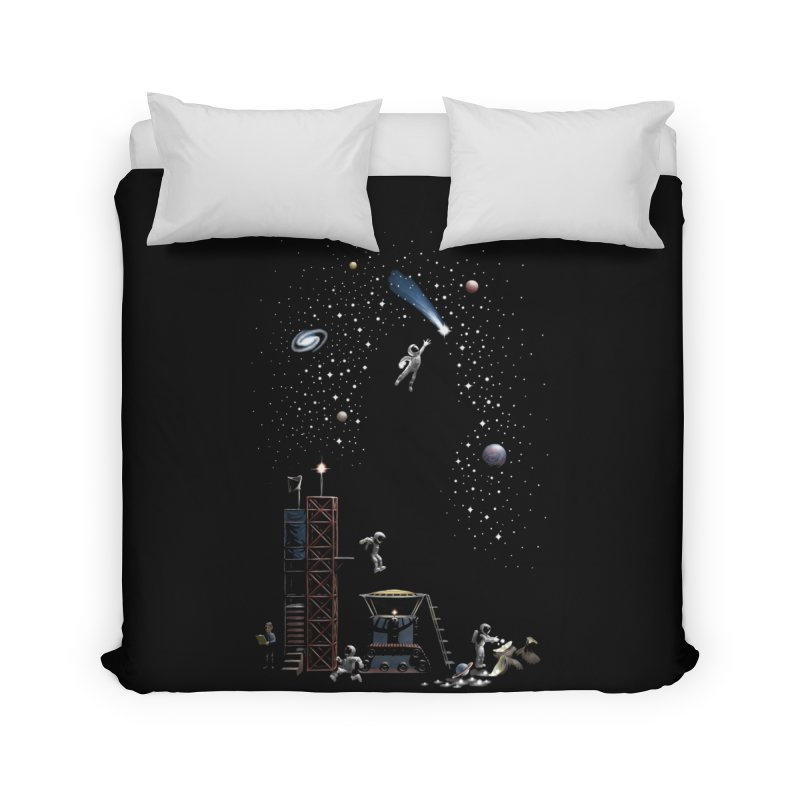 Astronot Home Duvet by Made With Awesome