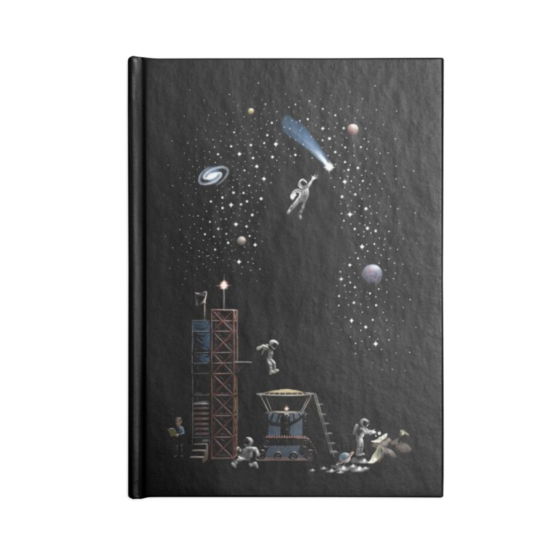 Astronot Accessories Blank Journal Notebook by Made With Awesome