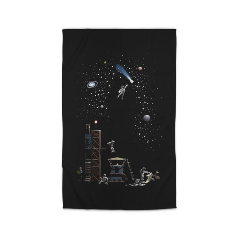 Astronot Home Rug by Made With Awesome