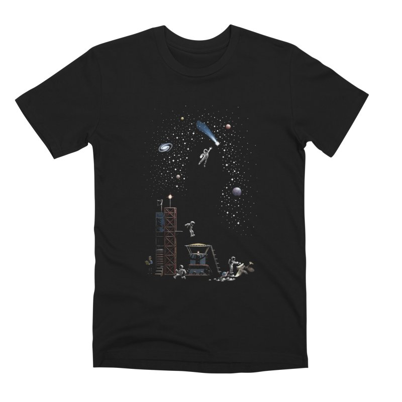 Astronot Men's Premium T-Shirt by Made With Awesome