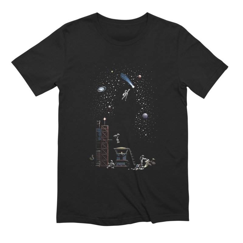 Astronot Men's Extra Soft T-Shirt by Made With Awesome