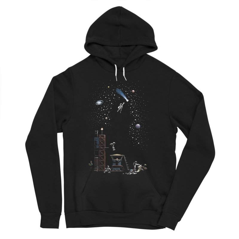 Astronot Men's Sponge Fleece Pullover Hoody by Made With Awesome