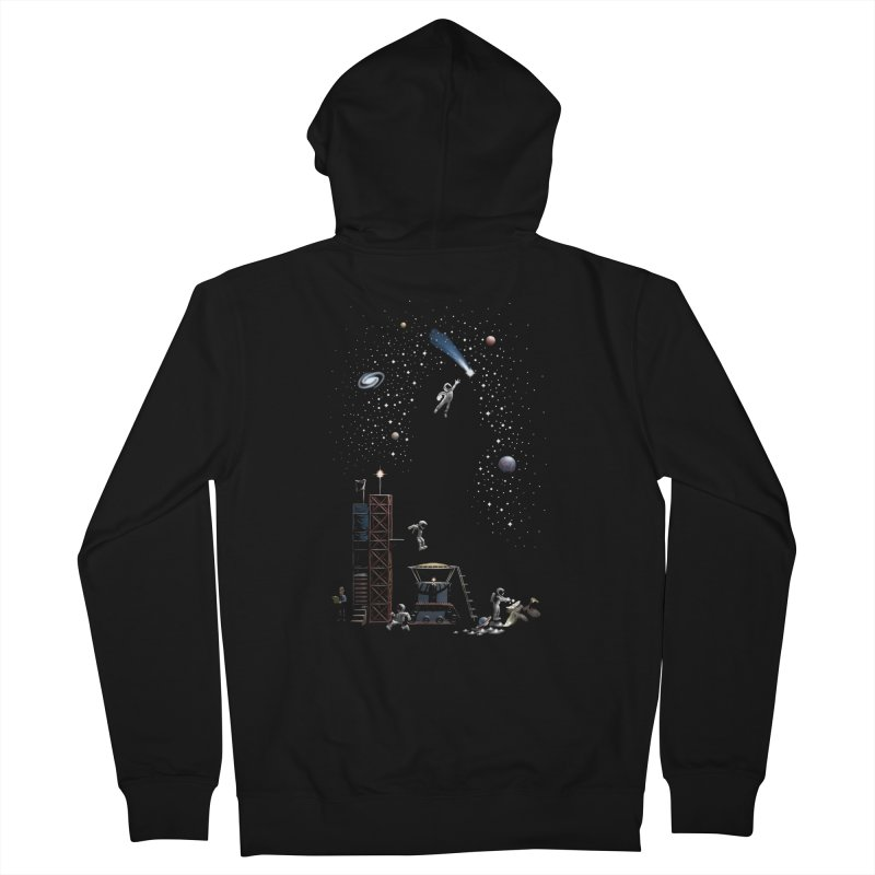 Astronot Women's French Terry Zip-Up Hoody by Made With Awesome