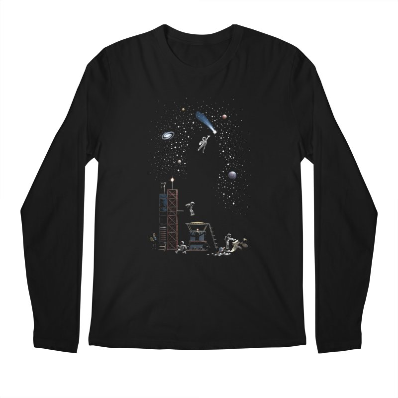 Astronot Men's Regular Longsleeve T-Shirt by Made With Awesome