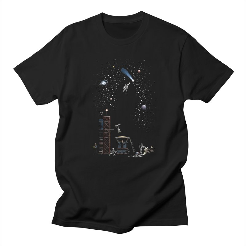 Astronot Women's Regular Unisex T-Shirt by Made With Awesome