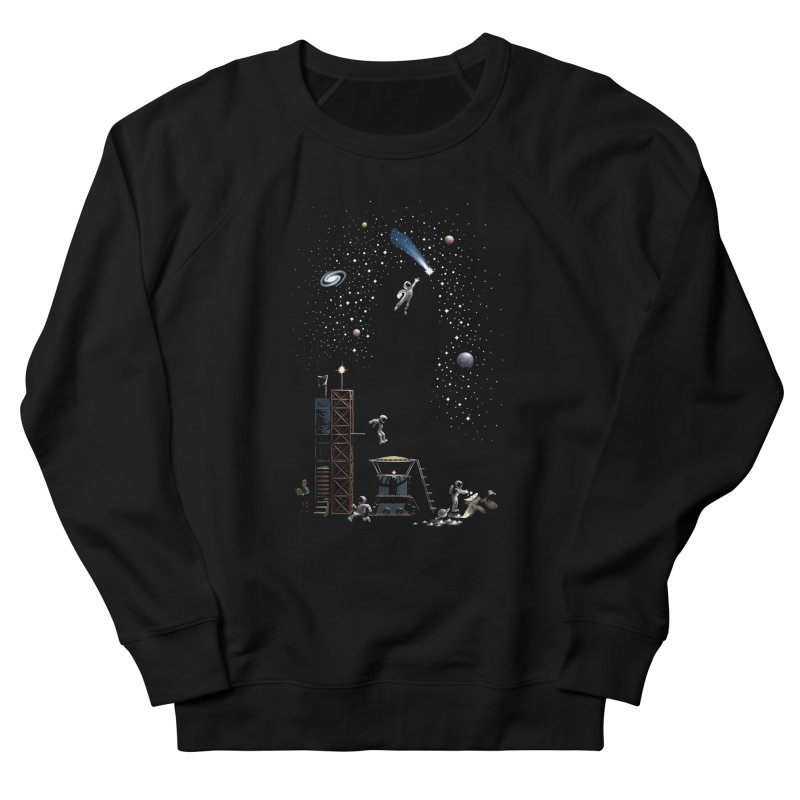 Astronot Men's French Terry Sweatshirt by Made With Awesome