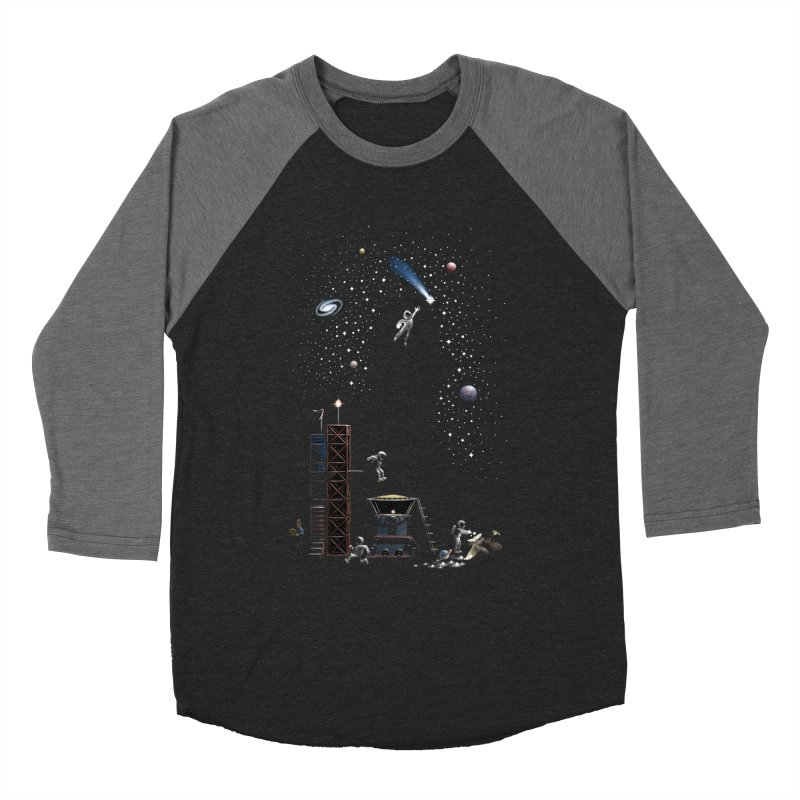 Astronot Women's Baseball Triblend Longsleeve T-Shirt by Made With Awesome
