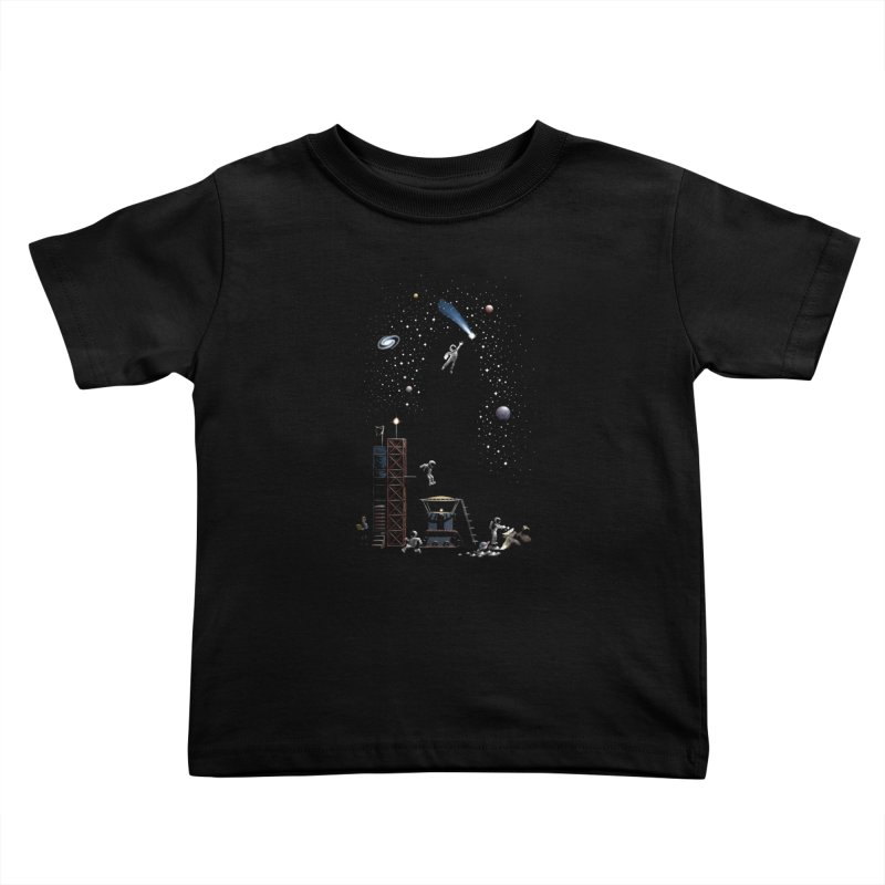Astronot Kids Toddler T-Shirt by Made With Awesome