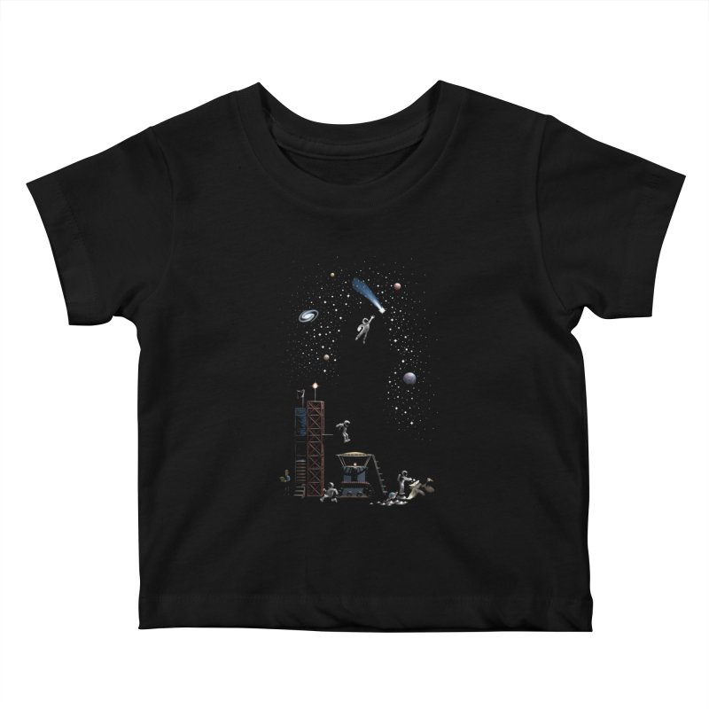 Astronot Kids Baby T-Shirt by Made With Awesome