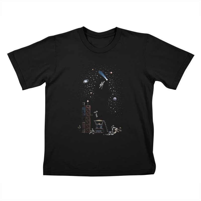 Astronot Kids T-Shirt by Made With Awesome