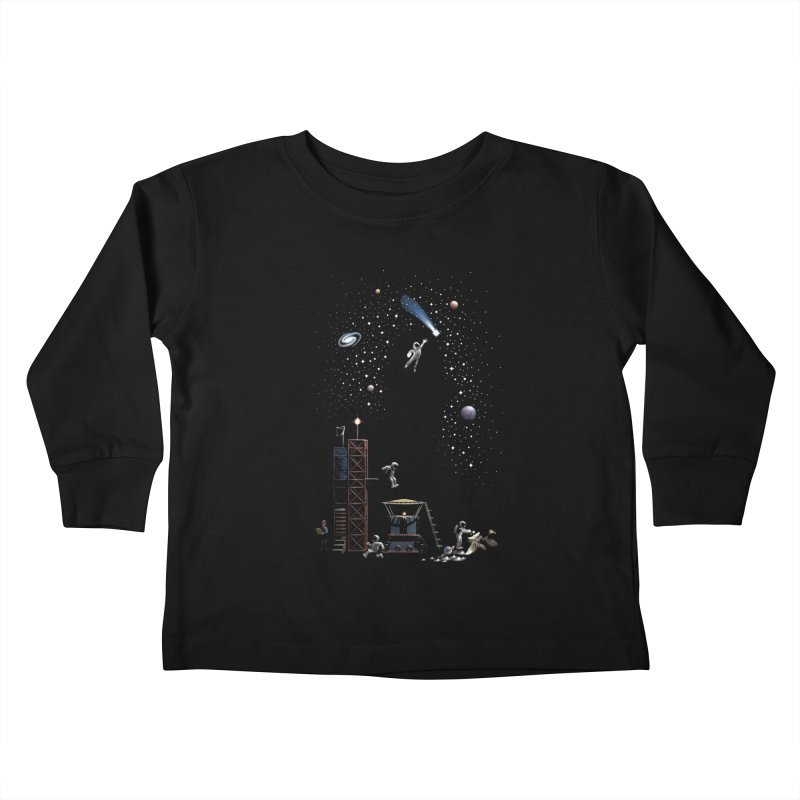 Astronot Kids Toddler Longsleeve T-Shirt by Made With Awesome